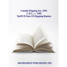 Tariff Of Fees Of Shipping Masters