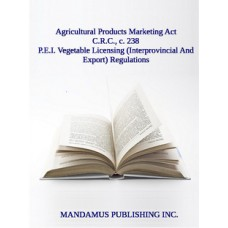 P.E.I. Vegetable Licensing (Interprovincial And Export) Regulations