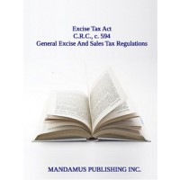 General Excise And Sales Tax Regulations