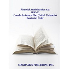Canada Assistance Plan (British Columbia) Remission Order
