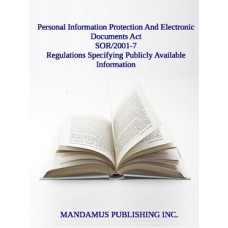Regulations Specifying Publicly Available Information