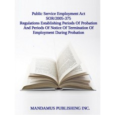 Regulations Establishing Periods Of Probation And Periods Of Notice Of Termination Of Employment During Probation