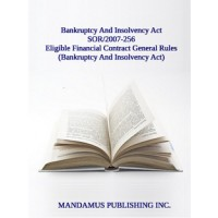 Eligible Financial Contract General Rules (Bankruptcy And Insolvency Act)