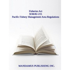 Pacific Fishery Management Area Regulations