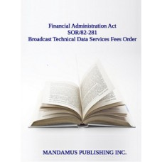 Broadcast Technical Data Services Fees Order