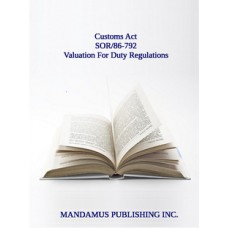 Valuation For Duty Regulations