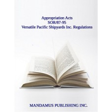 Versatile Pacific Shipyards Inc. Regulations