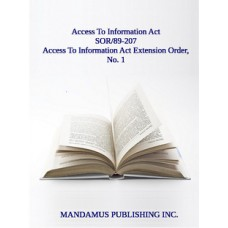 Access To Information Act Extension Order, No. 1