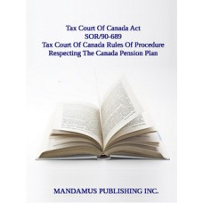 Tax Court Of Canada Rules Of Procedure Respecting The Canada Pension Plan