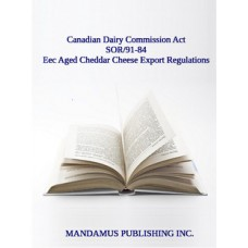 Eec Aged Cheddar Cheese Export Regulations