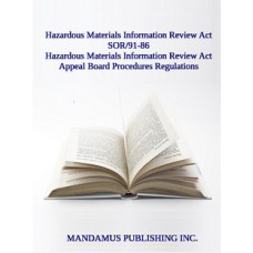 Hazardous Materials Information Review Act Appeal Board Procedures Regulations
