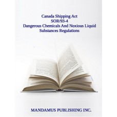 Dangerous Chemicals And Noxious Liquid Substances Regulations