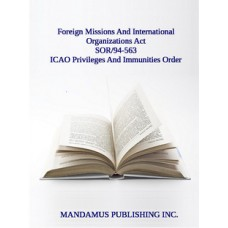 ICAO Privileges And Immunities Order