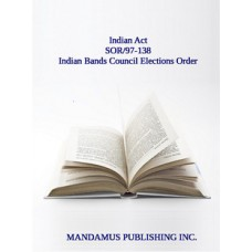 Indian Bands Council Elections Order