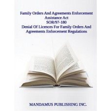 Denial Of Licences For Family Orders And Agreements Enforcement Regulations