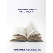 Department Of Justice Act
