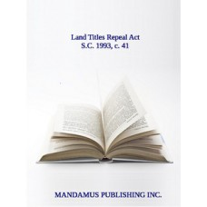 Land Titles Repeal Act