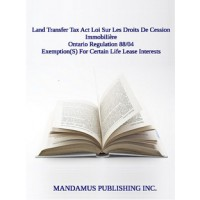 Exemption(S) For Certain Life Lease Interests
