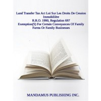 Exemption(S) For Certain Conveyances Of Family Farms Or Family Businesses