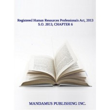 Registered Human Resources Professionals Act, 2013