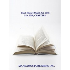 Black History Month Act, 2016