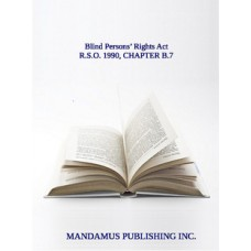 Blind Persons' Rights Act