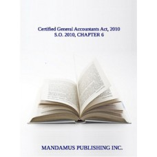 Certified General Accountants Act, 2010
