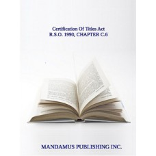 Certification Of Titles Act